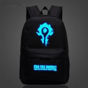 A Set of Official World of Warcraft Horde Value Pack Cap Snapback /& Backpack Bag